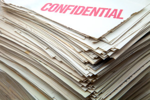 destruction documents confidentiels